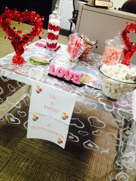 Valentine's Day Candy Bar