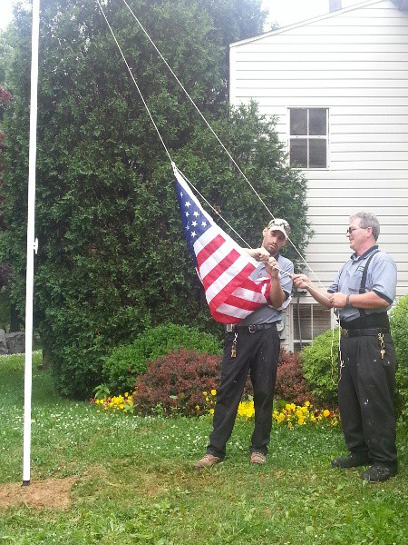 Meetinghouse Flag