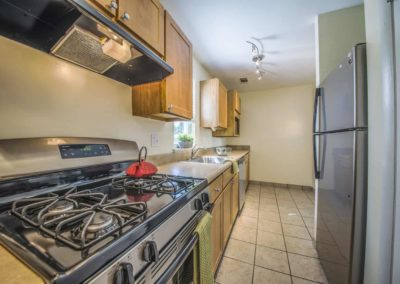 Stainless steel appliances in Boothwyn, PA apartment